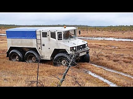 Тест драйв вездеходов для РОСНЕФТЬ в Магадане « автомагадан