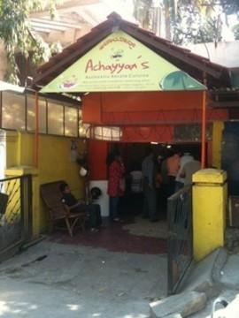 Achayyan's, Indira Nagar, Bangalore