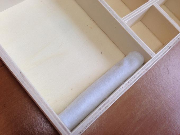 アクセサリーケース 手作り 布
