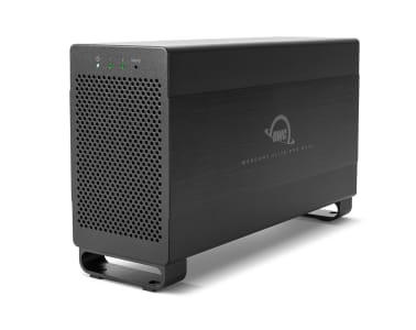 OWC Mercury Elite Pro Dual with Thunderbolt 2 + USB 3.1 Gen 1