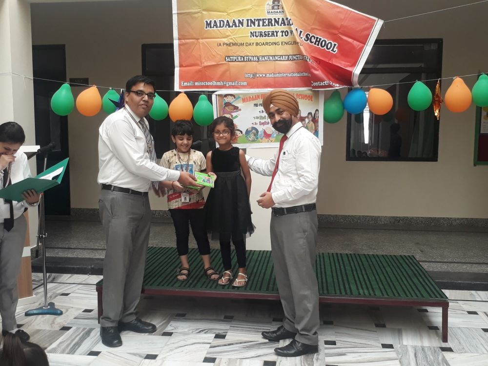 Poem recitation competition and Saturday Activities