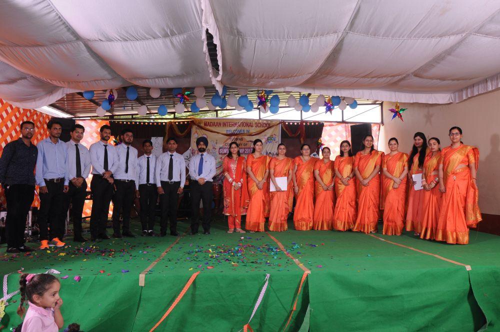 Summer Camp Closing Ceremony