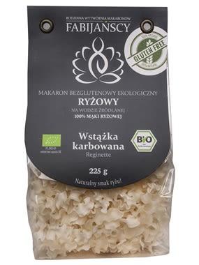 Wstążka karbowana z ryżu białego