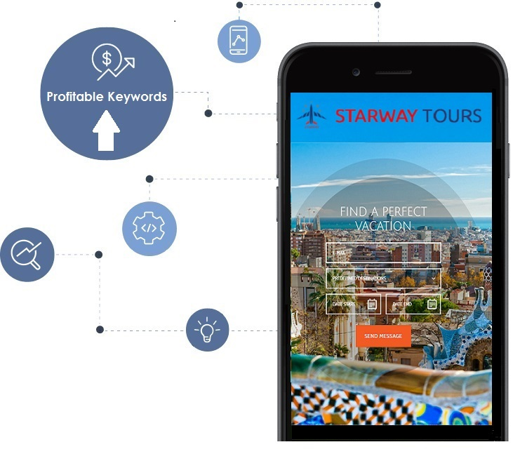 Starway Tours Mobile Website