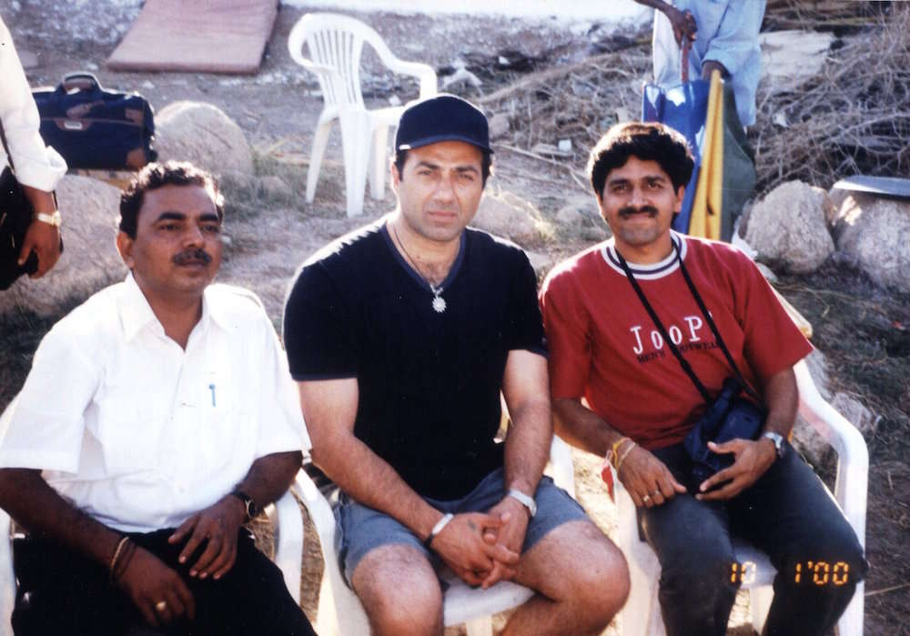 Bollywood - Creative Direction for Areial shots. Actor Sunny Deol with Capt A.D Manek