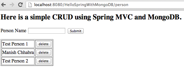 spring data mongodb example with spring mvc 3.2 - 火腿骑士- 博客园