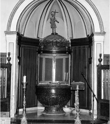 Reportaje de bautizo Basílica del Pilar Zaragoza 14