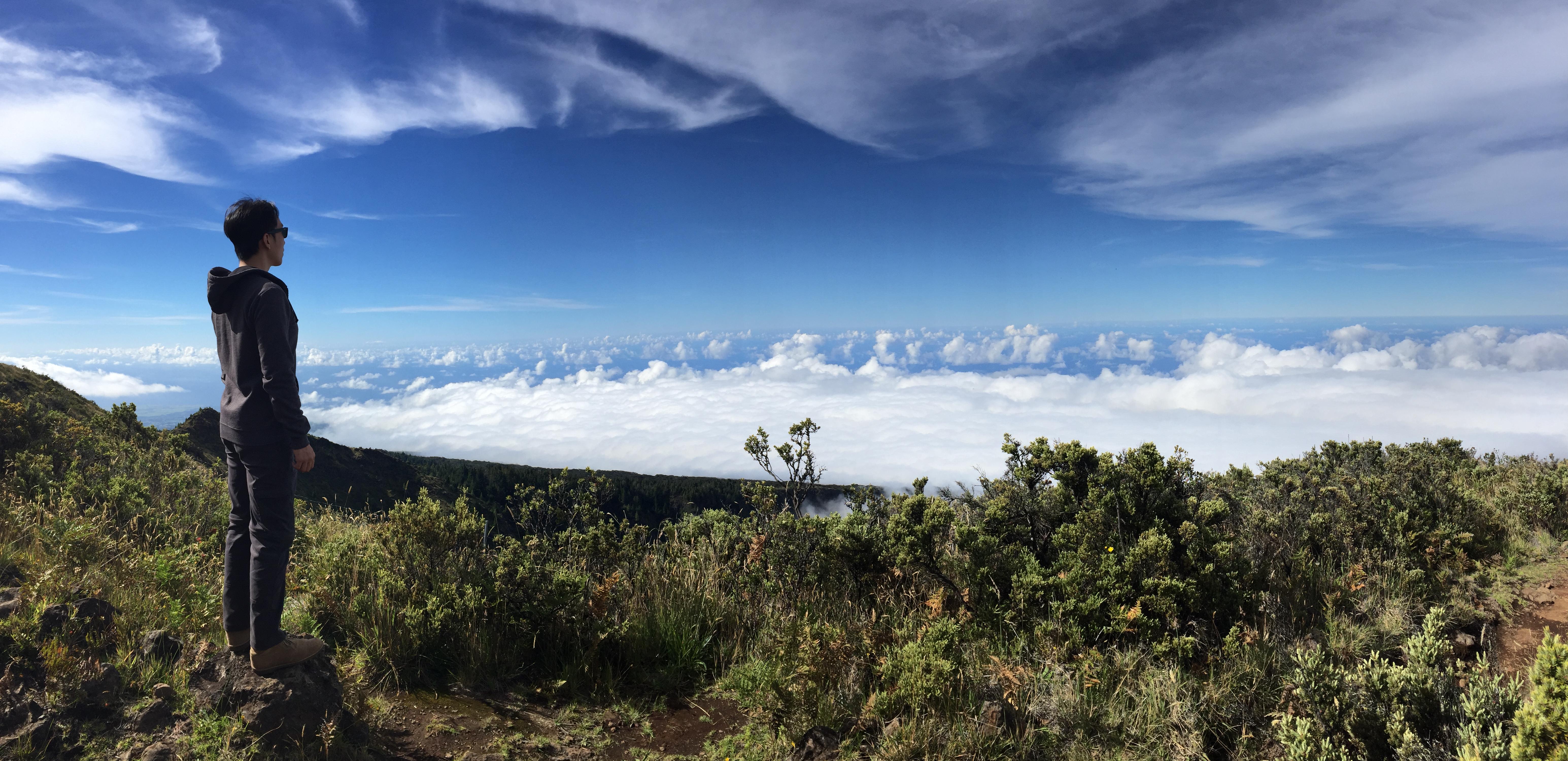 Haleakala 上的雲海