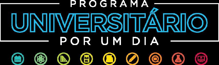 Lettering Programa Universitário Por Um Dia
