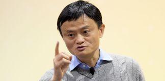Executive chairman of Alibaba Group, Jack Ma.