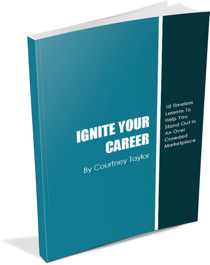 paperbackstanding2 zrlv5n Ignite Your Career Audio Training & Workbook  coaching
