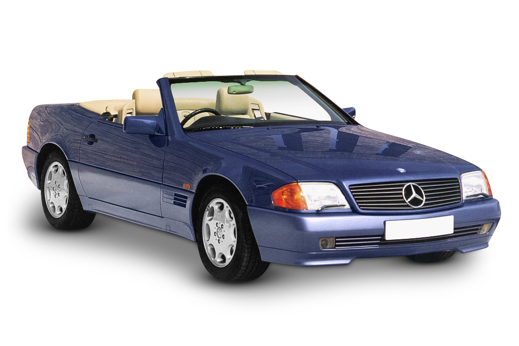 Mercedes SL320 (V6 Engine)
