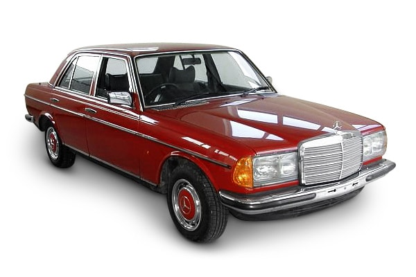 Mercedes 240D Elongated