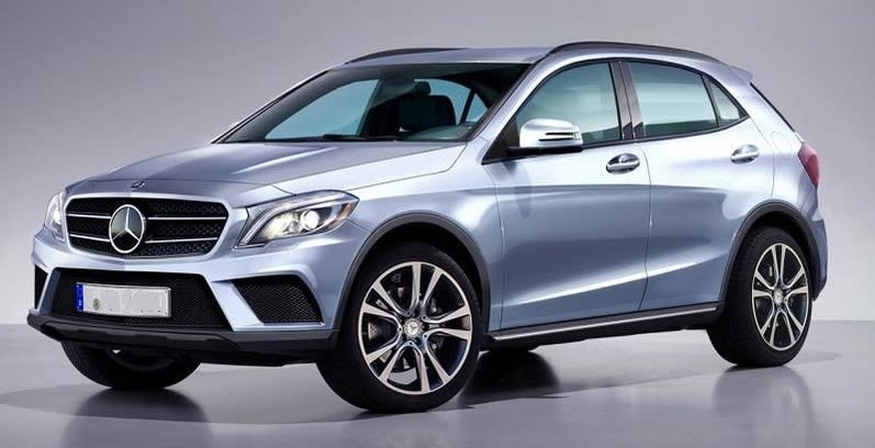 Mercedes GLA 200 CDI 4-Matic