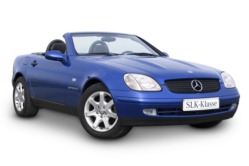 Mercedes SLK320 (V6 engine)
