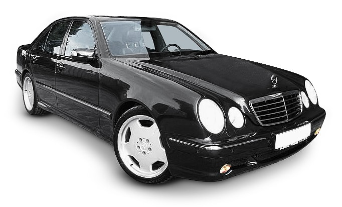 Mercedes E320 (V6 engine)