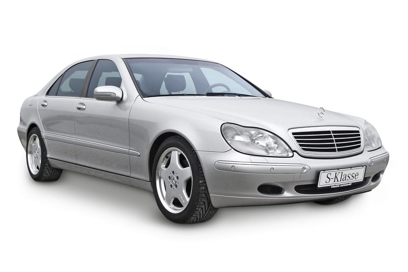 Mercedes S350 4 MATIC (V6 engine)
