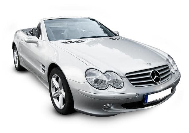 Mercedes SL350 (V6 engine)