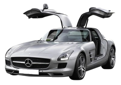 Mercedes 197 Coupe / Roadster SLS