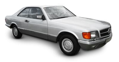 Mercedes 126 Coupe 1980-1986