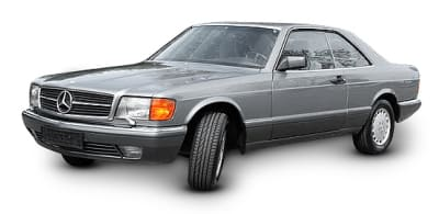 Mercedes 126 Coupe 1986-1992