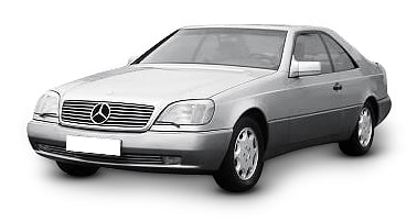 Mercedes 140 Coupe 1993-2001