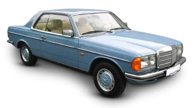 Mercedes 123 Coupe 1977-1985
