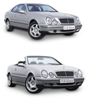 Mercedes 208 Coupe/Roadster 1998-2003