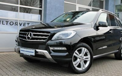 MERCEDES ML 350 CDI BT 4-M VAN + MOMS