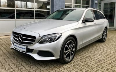 MERCEDES C 220 T BT AVANTGARDE NIGHTPAKET 7G AUT