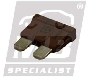 FUSE 7,5A  BROWN