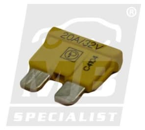 FUSE 20A  YELLOW