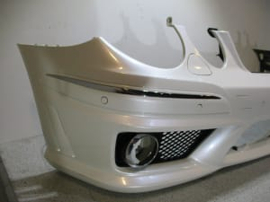 BUMPER FRONT 07-> AMG
