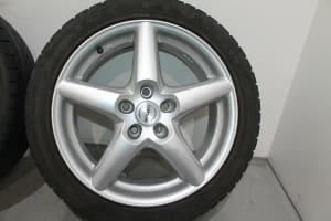 DISC WHEEL WITH TIRE