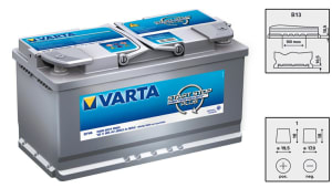 BATTERY 095 AMP VARTA GEL