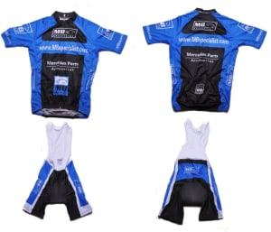 BIKE JERSEY & BIB PANTS M