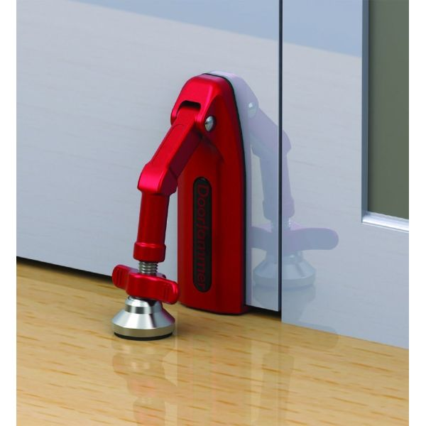 Online exclusive doorjammer portable door security device
