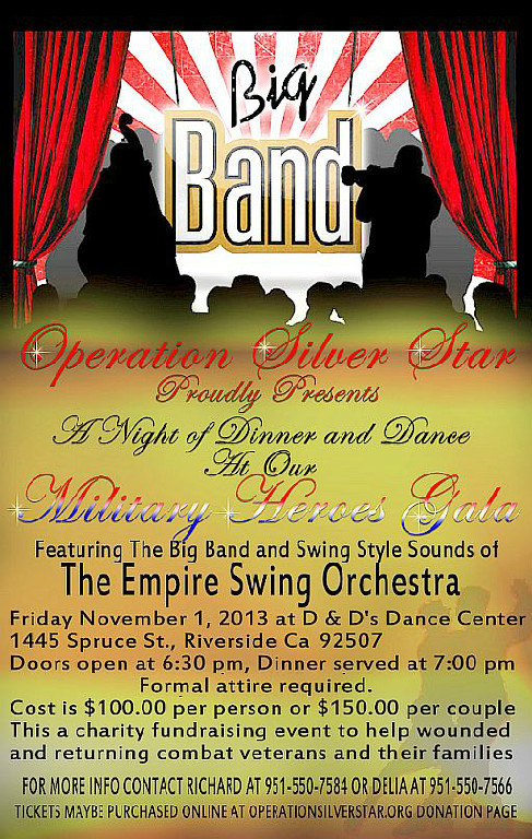 November 1, 2013Big Band Swing