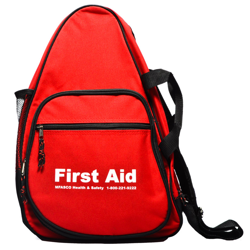 Outdoor First Aid Kit Packed In Sling Bag | MFASCO Health & Safety