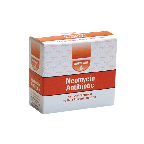 Water Jel Neomycin Antibiotic Packets | MFASCO Health & Safety