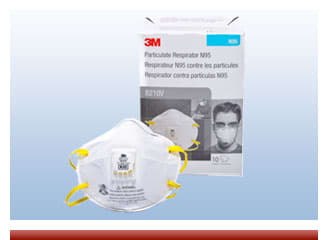 Value 3M 8210V Valved Respirator Mask On Sale