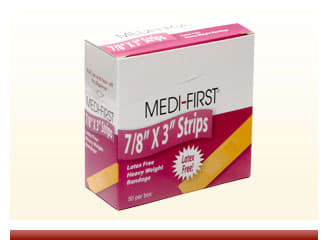 Medifirst Bandage Strips 7/8 x 3 - On Sale