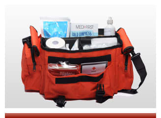 Sports First Aid Bag Orange - On Sale