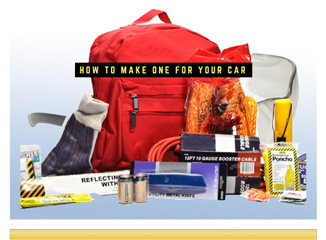 how to make a winter survival kit for your car
