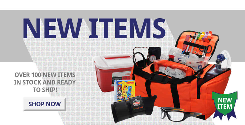 Reorder List - reorder your first aid and safety supplies in seconds!