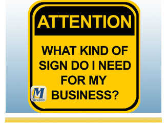 What kind of safety signs do I need for my business?