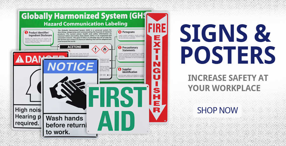 Signs & Posters - Check out our new signs here!