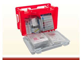 Rugged Plastic Quick Release First Aid Kit - On Sale