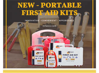 New portable first aid kits from MFASCO
