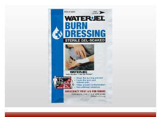 Water Jel Burn Dressing 4x4 - On Sale